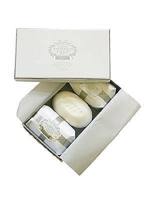 Portus Cale White & Silver Soap Set