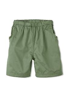 Rachel Riley Boy's Pull-On Shorts (Green)