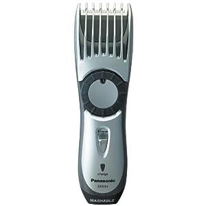 Panasonic ER224S, Hair Clipper and Beard Trimmer, Men's, Cordless, Wet or Dry Operation