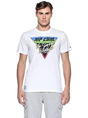 Rip Curl T-Shirt Fader S/S Tee (Bianco)
