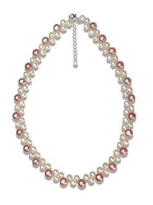 Nova Pearls Copenhagen Collar de Perla De Agua Dulce 6 - 8 mm
