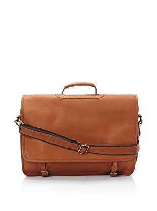 Latico Gramercy Laptop Brief, Natural