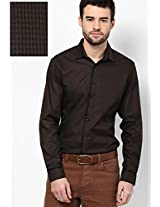 Solid Brown Casual Shirt I Know
