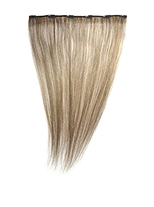 Love Hair Extensions Clip-In Haarverlängerung 100% Echthaar, 45 cm, Farbe 10 Medium Ash Brown
