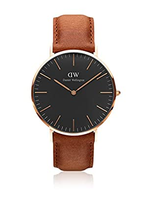 Daniel Wellington Reloj con movimiento cuarzo japonés Woman Classic Durham light brown 36 mm