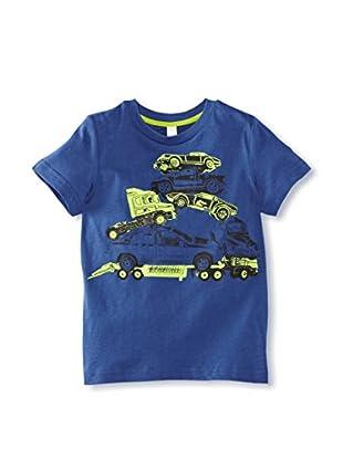 ESPRIT Camiseta Hawái (Azul)