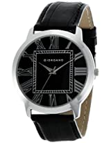 Giordano Analog Black Dial Men's Watch - P7158
