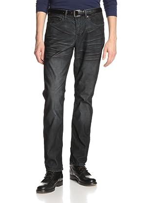 Stitch's Men's Barfly Slim Straight Corduroy Pant (Charcoal)