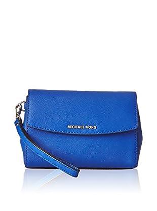 Michael Kors Pochette Md Wristlet Ecectric Blue