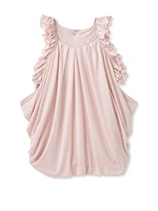Roberto Cavalli Angels Kids Pleated Ruffle Dress (Pink)