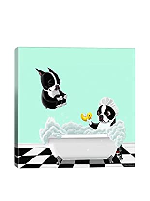 Brian Rubenacker Bath Tub Gallery Wrapped Canvas Print