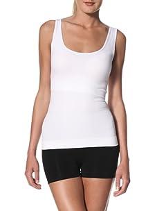 Cass Women's Contour Skinny Top (White)