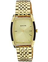 Sonata Analog Champagne Dial Men's Watch - NF7080YM02