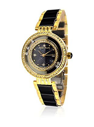 Stella Maris Reloj de cuarzo Queen Of The Night Negro / Dorado 32 mm