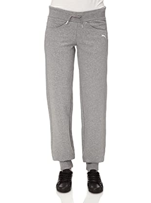 Puma Damen Hose Sweat, 819201 (athletic gray heather)