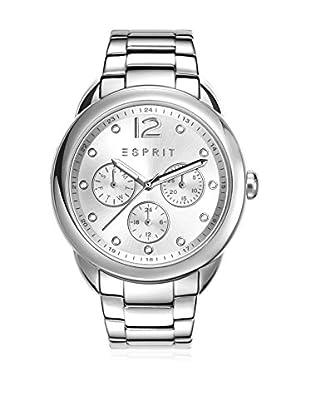 Esprit Uhr mit japanischem Uhrwerk Woman silberfarben 40 mm