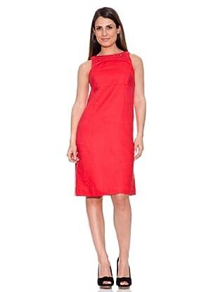 Caramelo Vestido Natalina (Rojo)