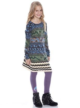 Custo Vestido Ondas (Multicolor)