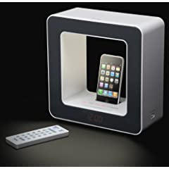 LEDライト付きiPod/iPhone対応サウンドシステム[SR-LUXi] - TEAC
