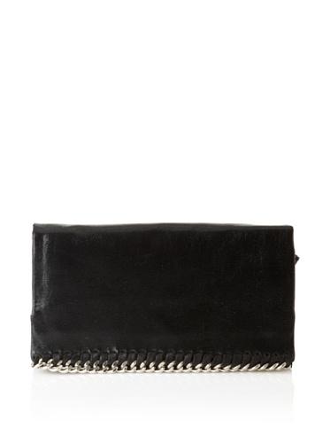 Latico Women's Billie Foldover Wallet (Black)