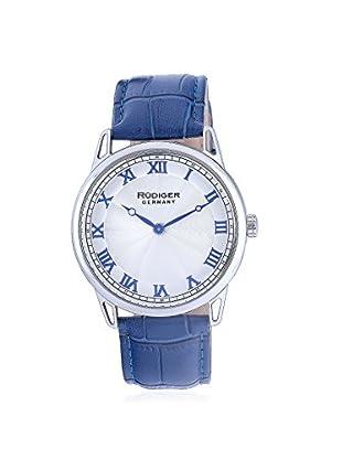 Rudiger Men's R2800-04-001.3 Ulm Analog Display Quartz Blue Watch