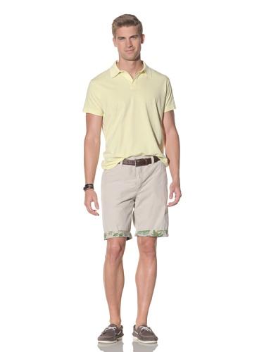 Tailor Vintage Men's Reversible Short (Stone/Island Print)
