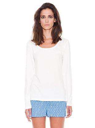 Women secret Camiseta ML Lisa (Marfil)