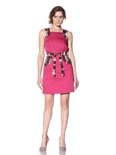 Bibhu Mohapatra Women's Jumper Dress (Fuchsia)
