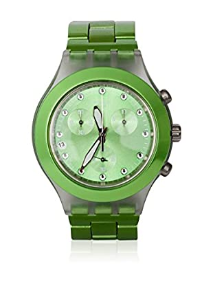 Swatch Quarzuhr Unisex Unisex FULL-BLOODED LIME SVCK4071AG 43.0 mm