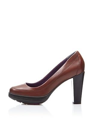 Rockport Zapatos de Salón Plataforma British (Marrón)
