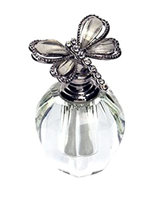 Dragonfly Top Perfume Bottle, White