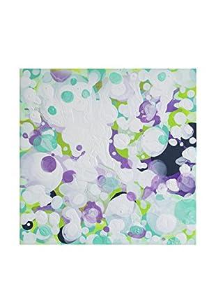 """Claire Desjardins """"Under The Radar"""" Embellished Giclée Print"""