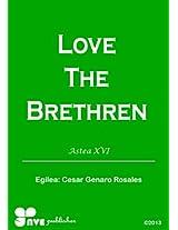 LOVE THE BRETHREN (Nola kristau bizitzan hazten Book 16) (Basque Edition)