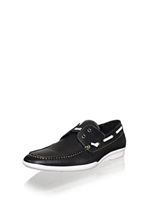 JD Fisk Men's Brave Loafer (Black)