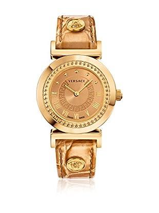 Versace Uhr mit schweizer Quarzuhrwerk Vanity P5Q80D999S999 goldfarben 35.00 mm