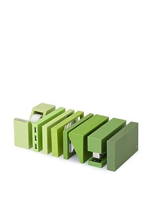 Lexon Buro Desk Essential Set, Green