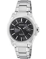 Citizen Eco-Drive Analog Black Dial Men's Watch BM6931-54E