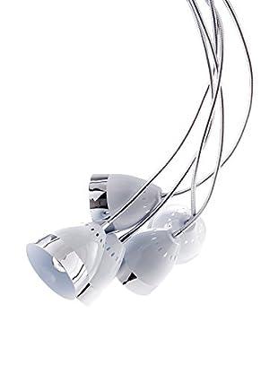 ET2 Contemporary Lighting Pendelleuchte Shuttle weiß