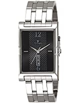 Titan Karishma Analog Black Dial Men's Watch -1641SM02
