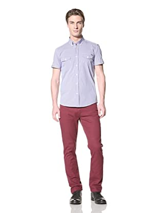 Antony Morato Men's 2 Pocket Stripe Shirt (Unico)