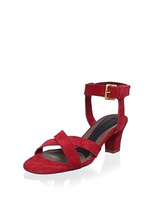 Marni Women's Sandal (Hot Red)