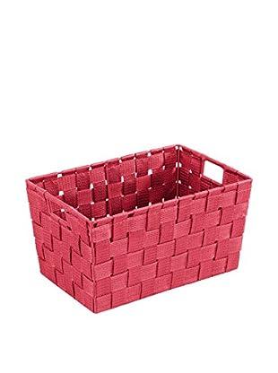 Wenko Aufbewahrungskorb 2er Set rot