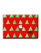 "Masaba Red Cone - Skin for Macbook Pro 17"""