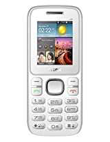 Intex Nano 106 Dual SIM Mobile Phone - (White-Grey) [Electronics]