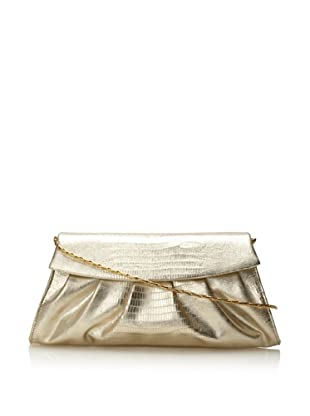 Inge Christopher Women's Kate Flap Clutch (Platinum)