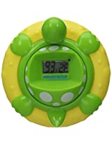 Aquatopia Deluxe Safety Bath Thermometer Alarm Green
