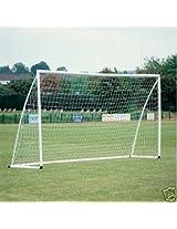 8x4ft Soccer Goal Post Net 2.4x1.2m for Poly Samba Junior Sport Match