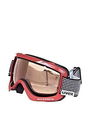 Uvex Máscara Ventisca Sioux Super Pro Vario (Negro / Rojo)