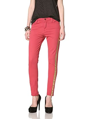 Rockstar Denim Women's Tuxedo Jean (Red)