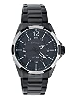 Titan HTSE Analog Black Dial Men's Watch - NE1573KM01